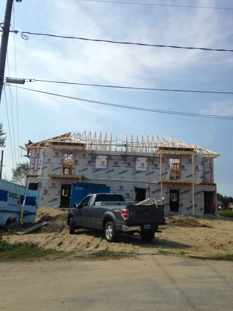 Construction de multiplex neuf